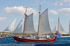 Traditional Boat Association of Greece - ΤΑ ΣΚΑΦΗ ΤΩΝ ΜΕΛΩΝ ΜΑΣ