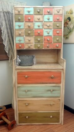 Rustic Furniture Storage Cabinet by ThePinkToolBox on Etsy, $499.99