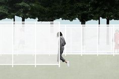 <i>Garden Wall</i> by Retallack Thompson and Other Architects.