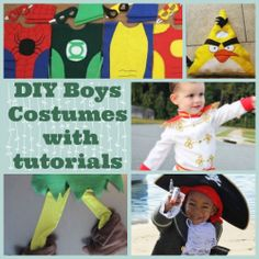 When I was browsing through homemade costumes for girls there were literary thousands of tutorials to be found online so I assumed tutorials for...