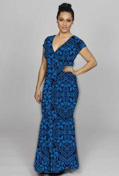 Kali Dress - : SHOP ONLINE-Womens : Resort Clothing Auckland, Resort Wear New Zealand, Samoan Dresses