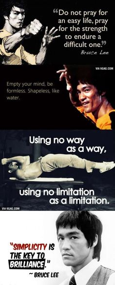 What Bruce Lee Taught us. Happy Birthday to this legend!