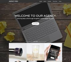 Score: 88 Represent your professional services with confidence and clarity by harnessing the streamlined professionalism of the Agency theme. First impressions are everything, and Agency's smart look and ease-of-use will take your client and customer connections to the next level. Let Agency be the face of your Agency.