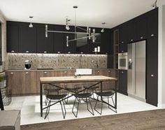 Aranżacje wnętrz - Jadalnia: suspenzo_no.23 - Średnia otwarta jadalnia w kuchni, styl industrialny - suspenzo architectural group. Przeglądaj, dodawaj i zapisuj najlepsze zdjęcia, pomysły i inspiracje designerskie. W bazie mamy już prawie milion fotografii!
