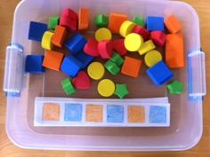 "A collection of activities for creating ""Busy Boxes"" for toddlers."