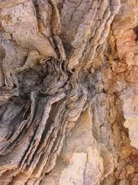 Brown rock formation - love the texture