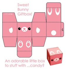 Pink Bunny Box photo by hello happy