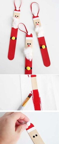 Christmas decoration with recycling, # Christmas # Deoration - # Decor ., Christmas decoration with recycling, – Recycled Christmas Decorations, Christmas Crafts For Kids, Diy Christmas Ornaments, Craft Stick Crafts, Thanksgiving Decorations, Kids Christmas, Holiday Crafts, Diy And Crafts, Christmas Gifts