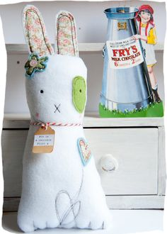 """This bunny has its own personality....""""Funny bunnies by  thevintagemagpie"""""""