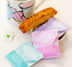 Paula, of Frog Prince Paperie, shares a DIY tea party favor free printable perfect for your next party or baby shower.