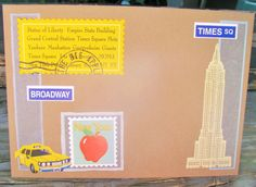 New York Taxi handmade card any occasion FWB by RogueKissedCraft New York Taxi, Broadway News, Etsy Store, Awesome, Handmade Gifts, Crafts, Kid Craft Gifts, Manualidades, Craft Gifts