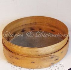 Antique Bentwood Shaker Sifter Sieve  by StoriesDivinations, $85.00