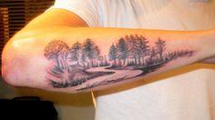 landscape tattoos - Google Search