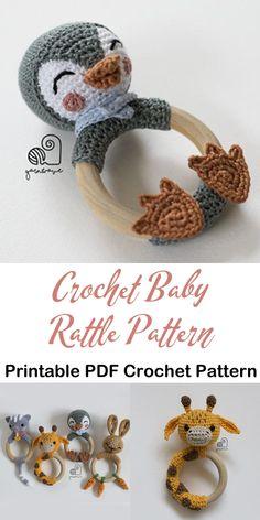 Make a Cute Penguin Rattle Make a cute penguin baby rattle .Crochet Patterns - Cute Gifts - A More Crafty Life - baby blanket Make a Cute Penguin Rattle Make a cute penguin baby rattle .Crochet Patterns - Cute Gifts - A More Crafty Life - baby blanket Crochet Baby Toys, Crochet Diy, Baby Blanket Crochet, Crochet Crafts, Dishcloth Crochet, Crochet Mandala, Crochet Afghans, Crochet Blankets, Crochet Baby Stuff