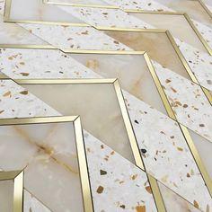 Nifty Terrazzo Floor Tile On Wonderful Inspiration Interior Home Design Ideas 22 with Terrazzo Floor Tile Terrazo Flooring, Stone Flooring, Vinyl Flooring, Kitchen Flooring, Linoleum Flooring, Floor Patterns, Tile Patterns, Floor Design, Tile Design