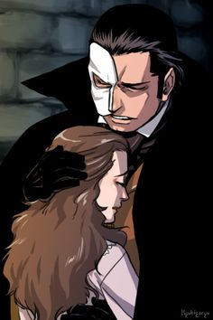 How do you not get testy when you look at this? Phantom of the opera Erik and Christine Fantom Of The Opera, It's Over Now, Opera Ghost, Gaston Leroux, Music Of The Night, Movies Playing, Love Never Dies, Character Development, Musical Theatre
