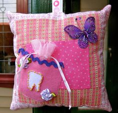 Make It: Tooth Fairy Pillow - Tutorial #sewing