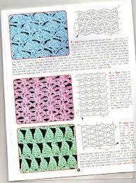 pontos de croche para tapetes com grafico - Pesquisa Google