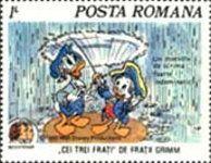 Romania stamp - Ken P's Walt Disney on Postage Stamps