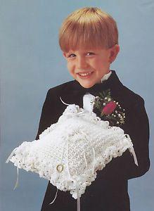 Ring Bearer Pillow Pattern Crochet Ring Bearers Pillow