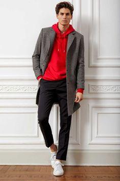 casual outfit for men Black Men Winter Fashion, Winter Fashion Boots, Korean Fashion Men, Fashion Mode, Fashion Fashion, Fashion Trends, Mode Masculine, Super Moda, Stylish Men