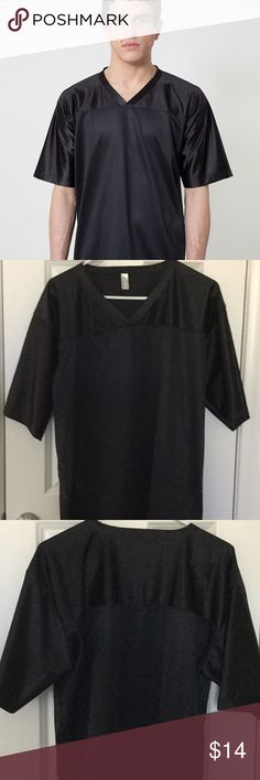 American Apparel Poly Mesh Football Jersey 🕶excellent condition 🕶 American Apparel Shirts