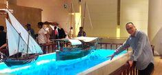 دكتور حسام درويش في زيارة لمتحف البحرين الرائع