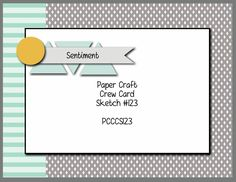 Paper Craft Crew Card Sketch 123 #papercraftcrew #stampinup #cardsketch