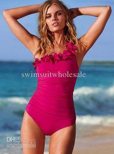 Wholesale Swimwear & Beachwear - Buy 2012 New Sexy Women 2 Color One Piece Ruffles Swimwear Bathing Suit, $13.59 | DHgate