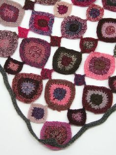 Sophie Digard crochet scarf detail