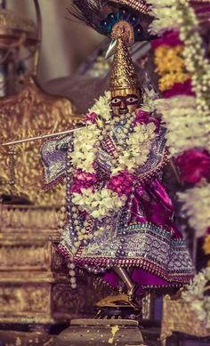 Sri Gaura Govinda, deity of Kashishvara Pandit, Jaipur. Sweet Lord, Blue Balloons, Radhe Krishna, Lord Krishna, Spiritual Life, Gods And Goddesses, Jaipur, Deities, Hare