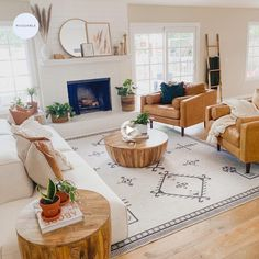 Rugs In Living Room, Home And Living, Living Room Designs, Boho Chic Living Room, Earthy Living Room, Living Room White Walls, Room And Board Living Room, Neutral Living Room Colors, White Couch Living Room