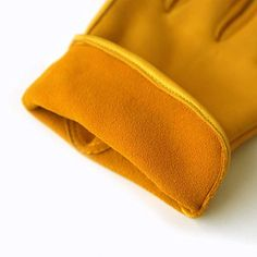 Evridwear Premium Grade Deerskin Full Grain Unlined Leather Gloves, Soft Buckskin Gloves with Open Cuff for Working Driving Gardening, or Industrial 1 Pair, 4 Sizes (XL, Yellow Deerskin) Deerskin Gloves, Leather Gloves, Deer Skin, Sunglasses Case, Grains, Coin Purse, Wallet, Yellow, Industrial