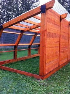 Interesting greenhouse idea - 12 feet wide, 18 feet long, roof is 9 feet tall, sloping to 7 feet. CL price is 2800 but we could do for less.
