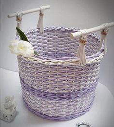 Удивительные техники плетения из бумаги - Ярмарка Мастеров - ручная работа, handmade