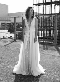 Pour une mariée rebelle et sensuelle : la collection 2018 de Rime Arodaky