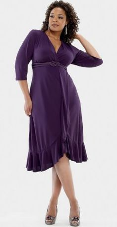 Charlotte Cocktail Dress - Plus Size Clothing Canada wedding colors september / fall color wedding ideas / color schemes wedding summer / wedding in september / wedding fall colors Curvy Fashion, Look Fashion, Plus Size Fashion, Girl Fashion, Womens Fashion, Xl Mode, Mode Plus, Dress Plus Size, Plus Size Outfits