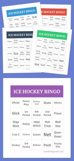 Free Printable Bingo Cards Free printable bingo cards, Bingo card