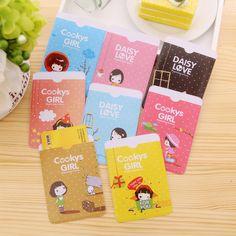 1Pcs New Super Cute Niuzai Card Sets Transportation Card Taoka Package 2 Card Slots Biscuits Girl Clip H0106 #Affiliate