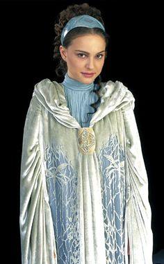 Star Wars Padme Amidala Return Home Dress with Cloak