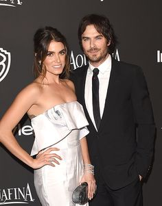 Brides: Nikki Reed's Engagement Ring from Ian Somerhalder