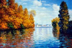 Monet - Autumn at Argenteuil