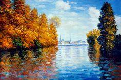 Monet - Autumn at Argenteuil