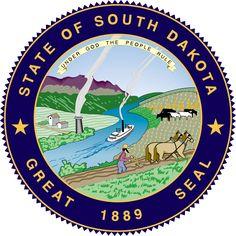 State seal of South Dakota