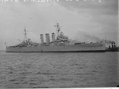 HMAS AUSTRALIA 1949 Royal Australian Navy, In Memory Of Dad, War Image, Royal Navy, Battleship, Water Crafts, Sydney, New York Skyline, Surface