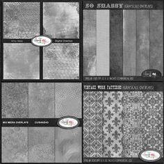 Shabby overlays bundleLilmade Designs