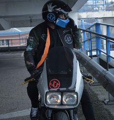 Show me you love me ....... #loveyoutothe80sandback Show Me Your Love, Honda Cbx, Classic Motorcycle, Bike Design, Katana, Scrambler, Golf Bags, Biker, Lifestyle