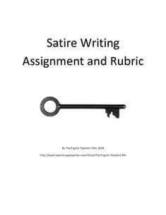 Satire Essay Topic Examples
