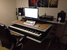 A/V Audio Video Editing Desk - Office Furniture - Custom - Studio - Handmade on Etsy, $4,500.00