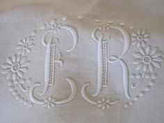 Stunning Antique French Pure Linen Sheet by VintageFrenchFinds, $150.00